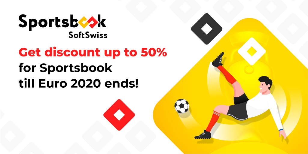 SoftSwiss Sportsbook discount EURO 2020